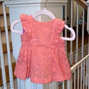 Bell Crown & Ivy Dress & Bloomer Set 3 MOs